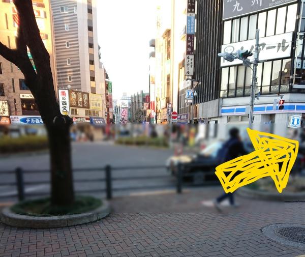 座高円寺への道順02