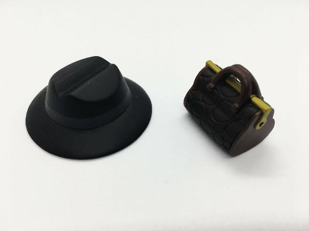喪黒福造フィギュア帽子&カバン