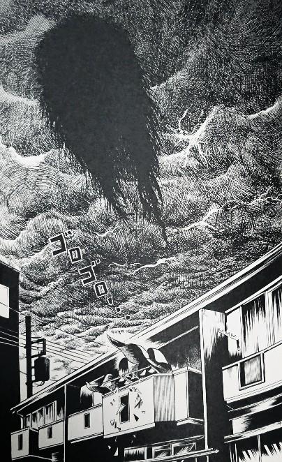 呪みちる『顔ビル/真夜中のバスラーメン』p126「アメリカのコート」